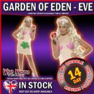 FANCY DRESS COSTUME # LADIES NAKED EVE COSTUME DRESS SM 8-10